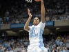 December 21, 2011: John Henson #31 in action during NCAA Basketball game between the North Carolina Tarheels and Texas Longhorns at The Dean E. Smith Center, Chapel HIll, NC.