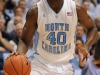 January 26th, 2012: North Carolina Tar Heels forward Harrison Barnes #40 in action during NCAA basketball game between the North Carolina Tar Heels and the North Carolina State Wolfpack at The Dean E. Smith Center, Chapel HIll, NC.