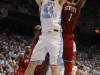 January 26th, 2012: North Carolina Tar Heels forward Tyler Zeller #44 and North Carolina State Wolfpack forward Richard Howell #1 in action during NCAA basketball game between the North Carolina Tar Heels and the North Carolina State Wolfpack at The Dean E. Smith Center, Chapel HIll, NC.