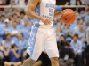 January 26th, 2012:North Carolina Tar Heels guard Kendall Marshall #5 in action during NCAA basketball game between the North Carolina Tar Heels and the North Carolina State Wolfpack at The Dean E. Smith Center, Chapel HIll, NC.