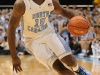 January 26th, 2012:North Carolina Tar Heels guard P.J. Hairston #15 in action during NCAA basketball game between the North Carolina Tar Heels and the North Carolina State Wolfpack at The Dean E. Smith Center, Chapel HIll, NC.