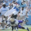 Sports Photographer  |  James Madison at UNC NCAA Football