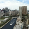 View from 1 location of my photoshoot today for Mr. Keio University 2012! Beautiful (but hot) day in Tokyo!