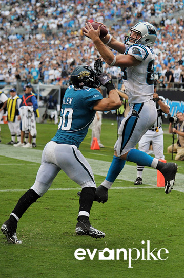 NFL Football: Jacksonville Jaguars vs Carolina Panthers  SEP 25