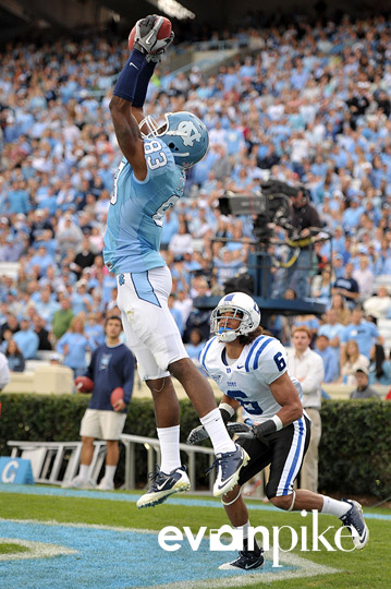 NCAA Football: Duke University vs University of North Carolina NOV 26