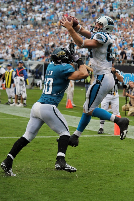 NFL Football: Jacksonville Jaguars vs Carolina Panthers  SEP 25
