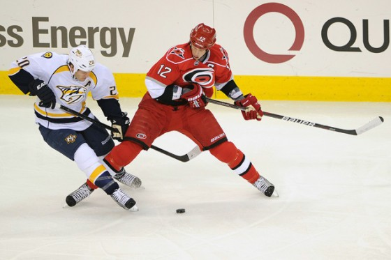 NHL Hockey: Nashville Predators  vs Carolina Hurricanes FEB 23
