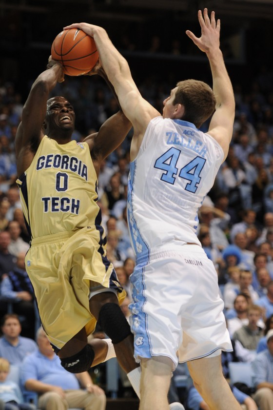 NCAA Basketball: Georgia Tech Yellow Jackets vs University of North Carolina JAN 29