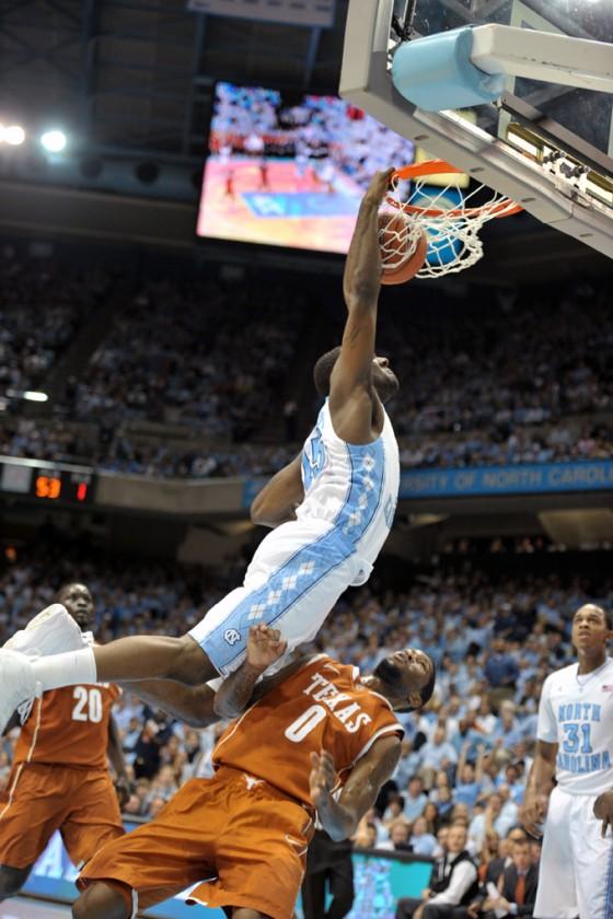 NCAA Basketball: Texas vs University of North Carolina DEC 21