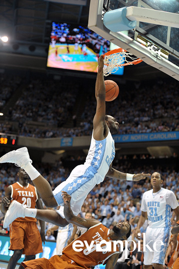 NCAA Basketball: Texas vs University of North Carolina DEC 21