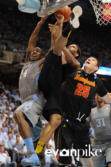 NCAA Basketball: Maryland Terrapins vs University of North Carolina FEB 29