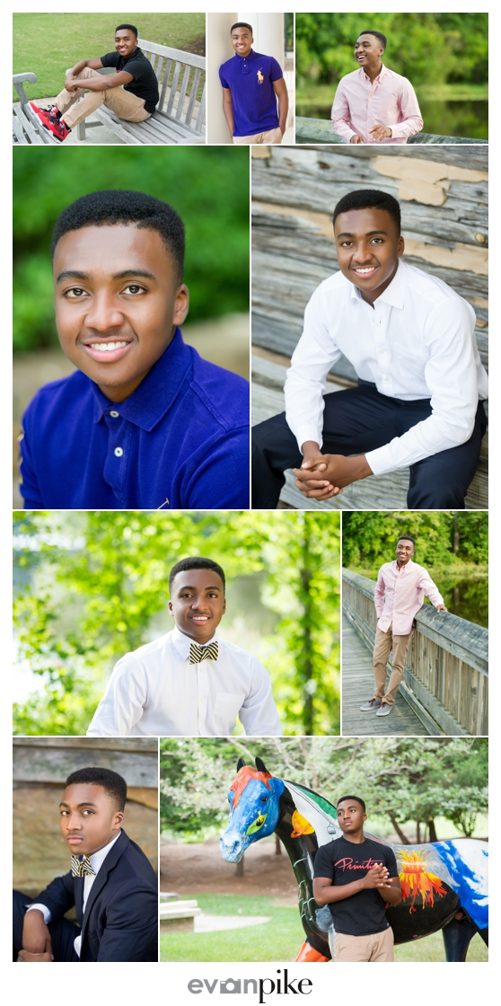 Cary Senior Portraits