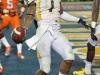 January 04 2011: Tavon Austin #1 scores a touchdown during NCAA football Discover Orange Bowl between West Virginia and Clemson at Sun Life Stadium, Miami Florida.