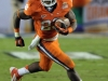 January 04 2011: Andre Ellington #23 in action during NCAA football Discover Orange Bowl between West Virginia and Clemson at Sun Life Stadium, Miami Florida.