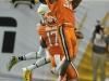 January 04 2011: Rashard Hall #31 intercepts a pass during NCAA football Discover Orange Bowl between West Virginia and Clemson at Sun Life Stadium, Miami Florida.