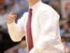 February 29th, 2012: Maryland Terrapins head coach Mark Turgeon during NCAA basketball game between the North Carolina Tar Heels and Maryland Terrapins at The Dean E. Smith Center, Chapel HIll, NC.